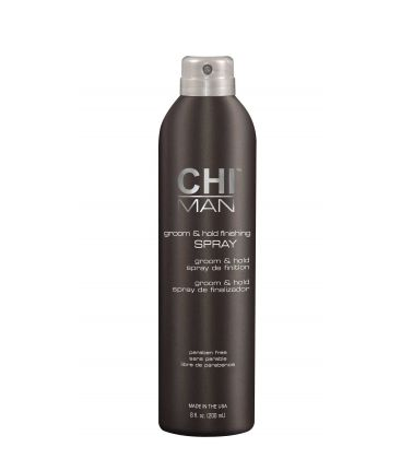 CHI MAN Groom and Hold Finishing Spray - Лак за Коса