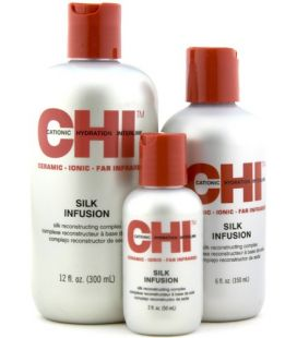 CHI SILK INFUSION - Копринен серум с Пшенични и Соеви  Протеини