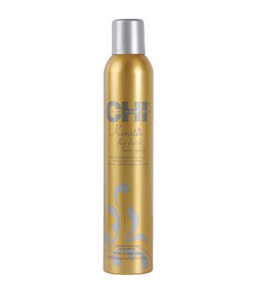 Лак за коса с гъвкава фиксация - CHI Keratin Flex Finish Hair spray 284gr