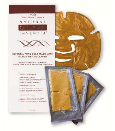 Златна маска с натурален рибен колаген